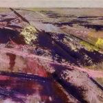 Winter - 60x125 cm - 2015 - acryl op doek opgespannen