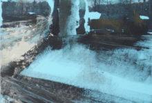 Zonder titel - 30x20,5 cm - 2013 - Gemengde techniek op doek op masoniet