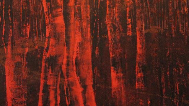 Het meest van al - 180x180 cm - 2011 - acryl op polyester opgespannen