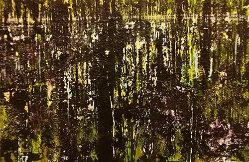 Overvloed - 23x35 cm - acryl op doek op masoniet